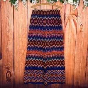Cato Pants - Flaire Wide Leg High Waist Bohemian Hippie Pants